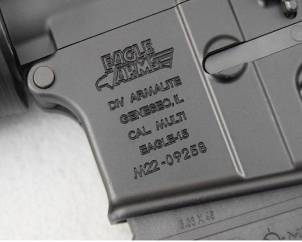 Armlite Eagle -stamp